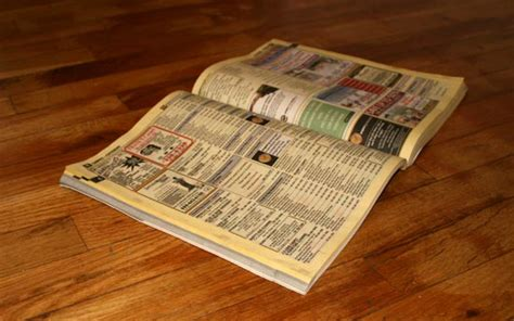 Good-bye yellow pages – Score one for dematerialization!