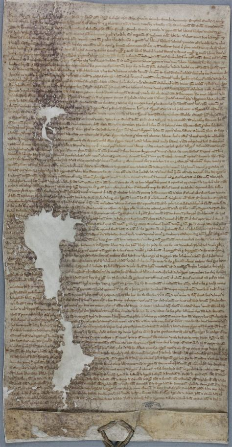 Magna Carta, 1225 - The National Archives