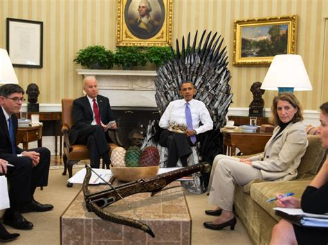 """White House Archived on Twitter: """"The Westeros Wing"""