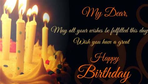 Warm Birthday Wishes For You