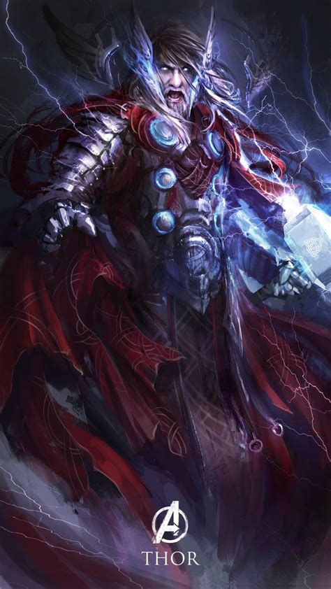The Avengers Reimagined as Dark Fantasy Characters is