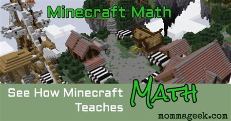 Does Minecraft math really teach our kids about math